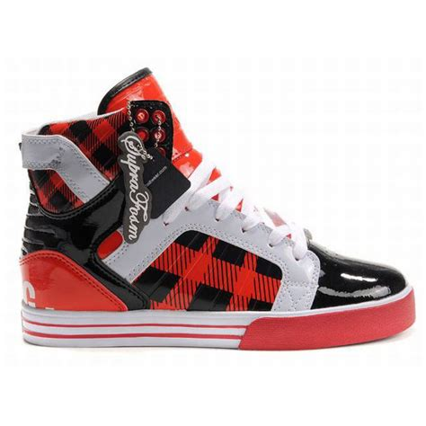 High Top Supra Skytop High Tops Black White S 41770