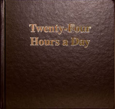 Hazelden Store Twenty Four Hours A Day 24 Hours Larger