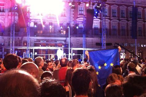 ingresso croazia ue la croazia 232 entrata ufficialmente nell unione europea