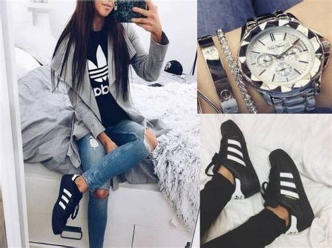 style  adidas shoes  trendy girls