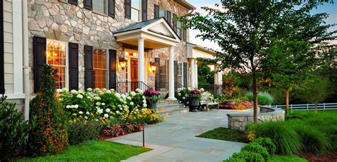 Tuscan Home Design Elements by Front Yard Landscaping Houston