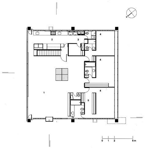 planta casas galeria de cl 225 ssicos da arquitetura casa gerassi paulo mendes da rocha 4