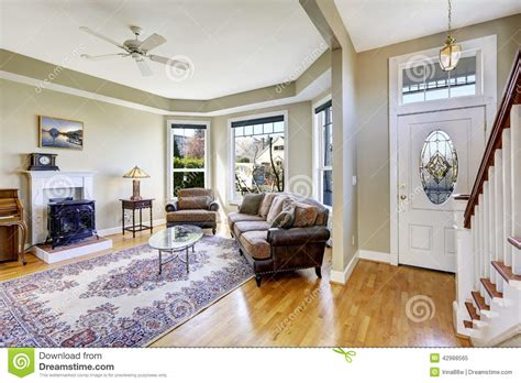 home interior plans house interior with open floor plan living room and