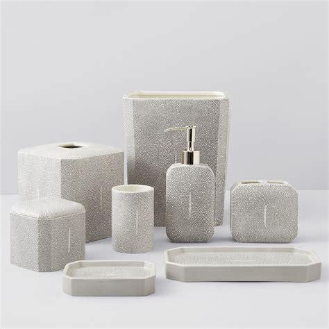 kassatex shagreen bath accessories bloomingdales