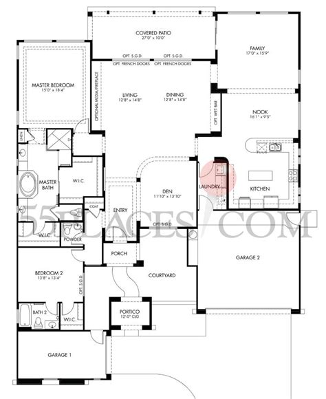 cantamia floor plans ovation floorplan 2686 sq ft cantamia 55places com