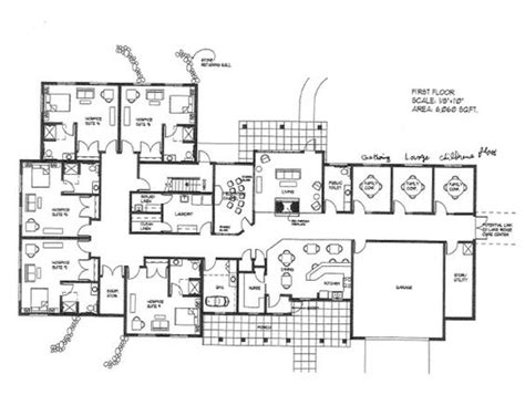 large floor plans just an awesome family retreat home designs large