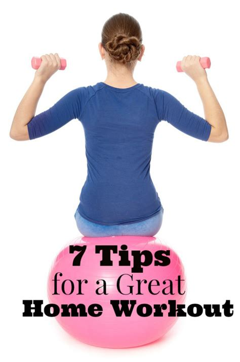 testing the workout waters and tips for a great home