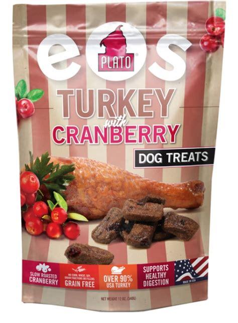plato treats plato eos turkey with cranberry treats modern magazine
