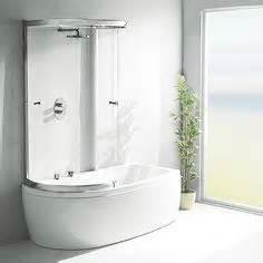 Offset Corner Bath Shower Screen bath shower combinations on pinterest showers bath