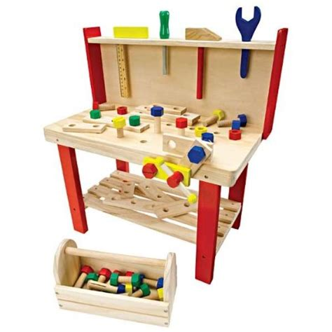 childrens work benches build dramatic play and fine motor skills with a wooden
