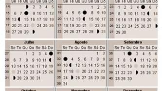 Calendario Lunar Julho 2017 Calend 225 Lunar 2017 A Gravidez