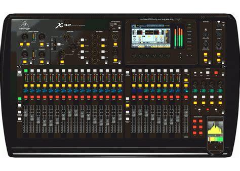 Baru Mixer Behringer 32 Channel behringer x32 32 channel motorized fader mixer console