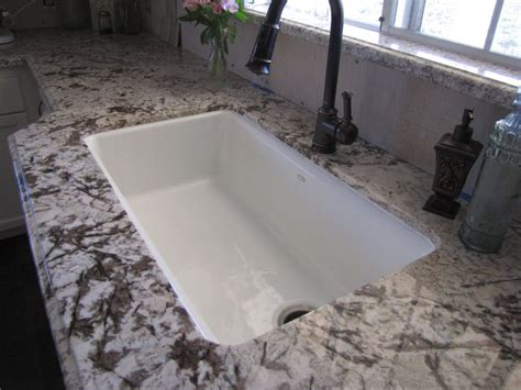 problems with granite sinks undermount i could cook in here pinterest