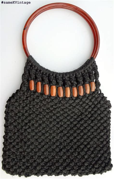 Macrame Bags Tutorials - 17 best images about macrame purse on macrame