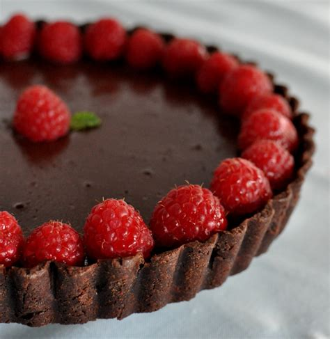 chocolate raspberry tart foodista must read posts s day and treats