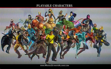 official marvel ultimate alliance 2 character list marvel ultimate alliance 2 wallpapers wallpaper cave