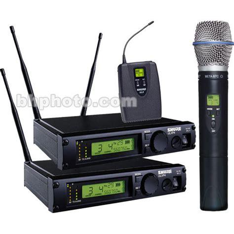 Wireless Microphone Shure Bisa Ubah Frequensi shure shure ulx professional series ulxp124 beta87c m1 b h