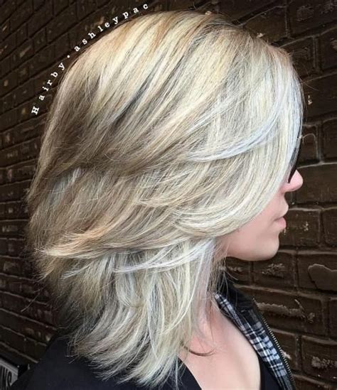 does ombre work with medium layered hair length 15 easy to do shoulder length hairstyles medium length