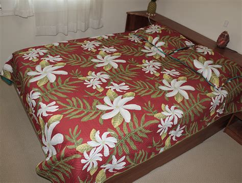 Hawaiian Quilt Bedding by Hawaiian Quilt Comforter Bedding Hawaiian Quilt Comforters