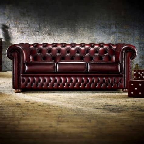 Saxon Chesterfield Sofa by Buy A 3 Seater Chesterfield Sofa At Sofas By Saxon