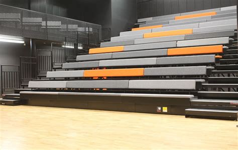sports bench seating sports bench retractable bleacher auditorium seating folding seats and chairs