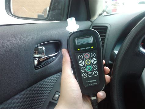 breathalyzer  car