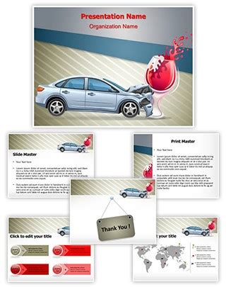 Professional Drunk Drive Editable Powerpoint Template Drive Presentation Templates