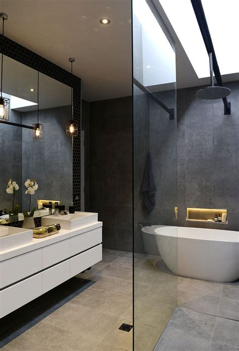 dark bathroom ideas the block glasshouse how bout them bathrooms vanities