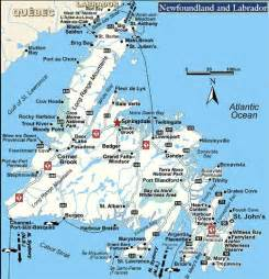 map nfld canada maries motel and restaurant springdale nl how to get