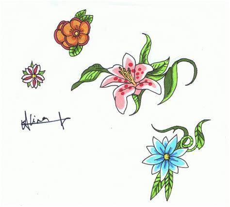tattoo flower flash flower tattoos flower flash flower tattoo