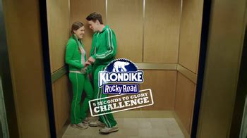 klondike commercial actress klondike rocky road challenge tv commercial jim vs baby