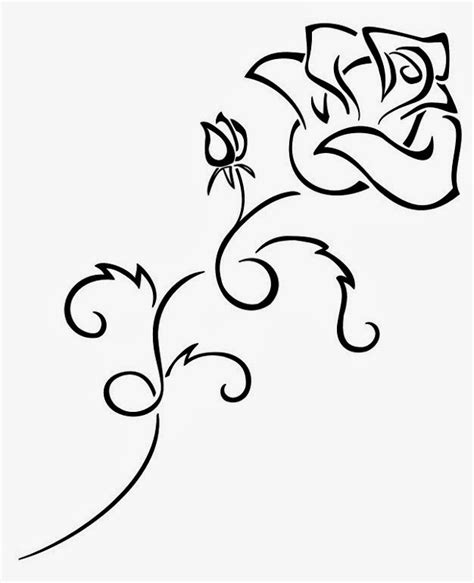 tattoos book 2510 free printable tattoo stencils rose