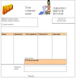 house cleaning invoice template house cleaning house cleaning invoice exles