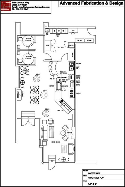 Ice Cream Shop Floor Plan 17 Best Ideas About Coffee Shop Design On Pinterest
