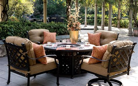 patio sets with pit table outdoor pit table and chairs marceladick