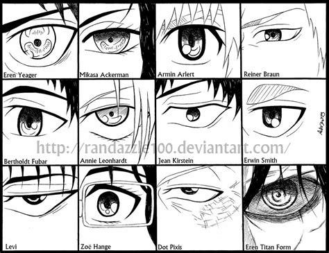 attack titan eyes randazzle100 deviantart