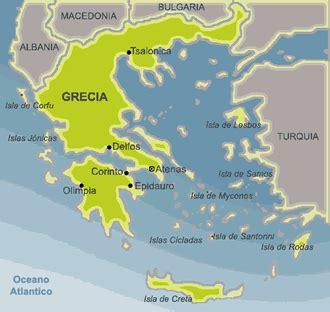 grecia: ubicacion geografica