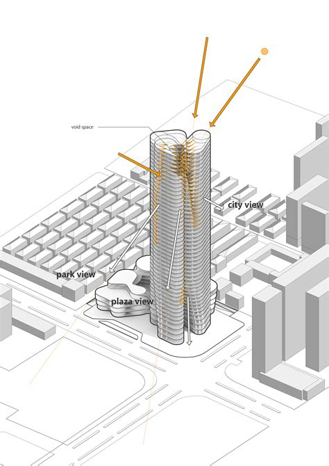 bank of china tower floor plan gallery of urban systems office s bundle tower reimagines