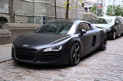 audi r8 matte black wallpaper image 196