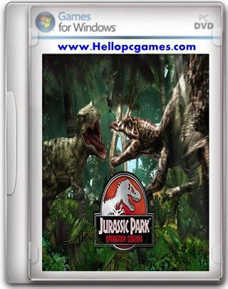 jurassic park operation genesis pc full version download jurassic park operation genesis game free download full