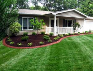 House Landscape Quick Landscaping And Gardening Tips When Staging Your