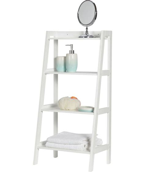 bathroom shelves argos buy ladder storage unit at argos co uk your online shop