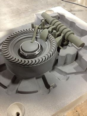 patternless casting prototype metal castings