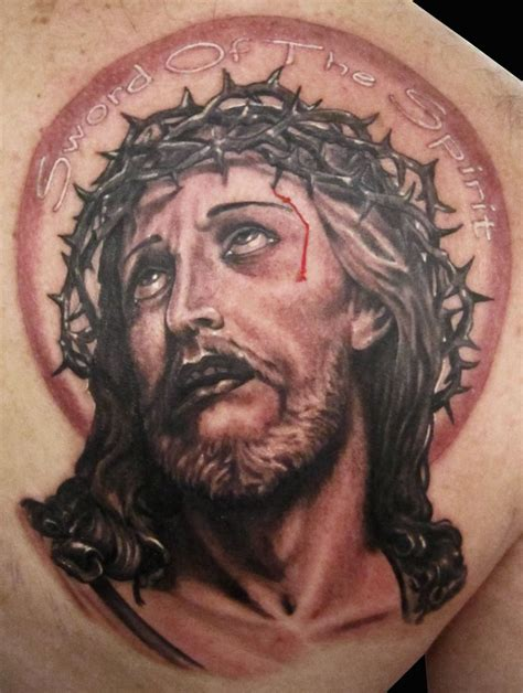 pinterest tattoo portrait jesus portrait tattoo religious tattoos pinterest