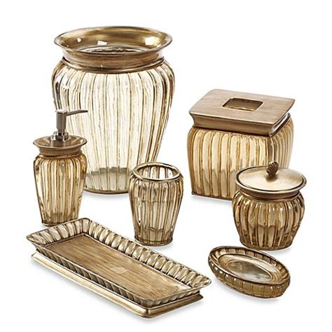 discontinued croscill bathroom accessories croscill 174 antique ribbed bath ensemble bed bath beyond