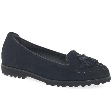 gabor caris womens tassel slip on shoes charles clinkard