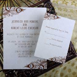 cheap peacock wedding invitations