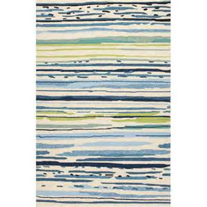 Blue And Green Outdoor Rug Colours Blue Green Abstract Indoor Outdoor Area Rug Wayfair