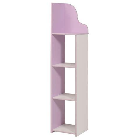 colonne rangement chambre colonne de rangement enfant contemporaine blanche lilas
