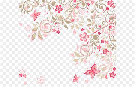background undangan pernikahan bunga